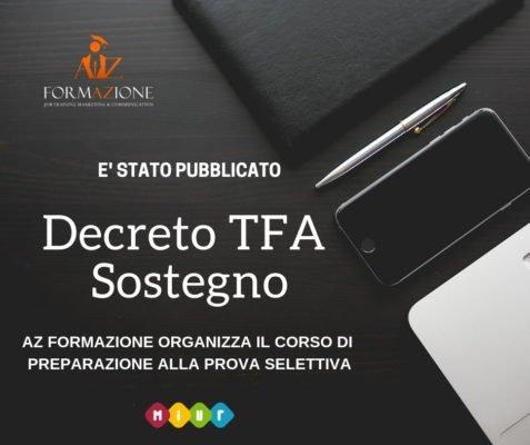 Decreto TFA Sostegno