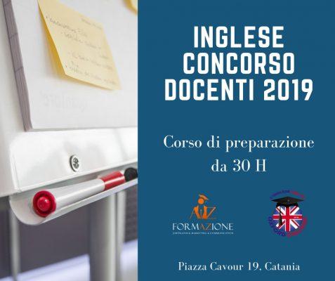 Lingua Inglese prova concorso Docenti 2019