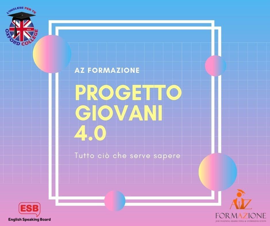 Progetto Giovani 4.0