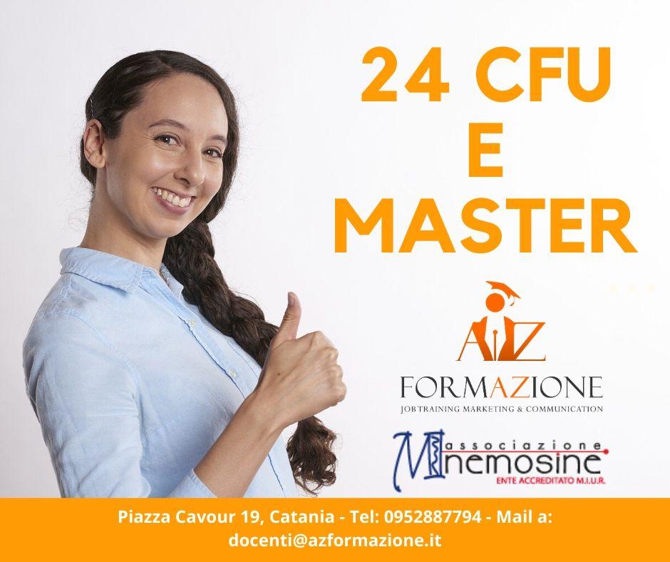 24 CFU e Master per l'insegnamento